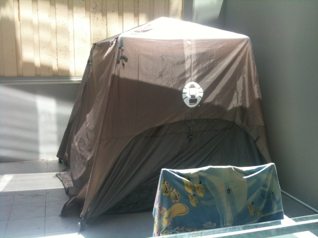 Multiple Tents Found Pitched In Melbourne Apartments And Rented Out